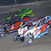 "Mod action Ronnie Johnson #2RJ, John Ruchel #7 & Andy Bachetti #4 at Lebanon Valley Speedway. Photos courtesy Kustom Keepsakes Mark Brown and Ryan Karabin. For reprints and more visit <a href=""https://nepart.smugmug.com"">https://nepart.smugmug.com</a>"