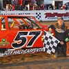 "Pure Stock winner Gary O'Brien #57 at Lebanon Valley Speedway. Photos courtesy Kustom Keepsakes Mark Brown and Ryan Karabin. For reprints and more visit <a href=""https://nepart.smugmug.com"">https://nepart.smugmug.com</a>"
