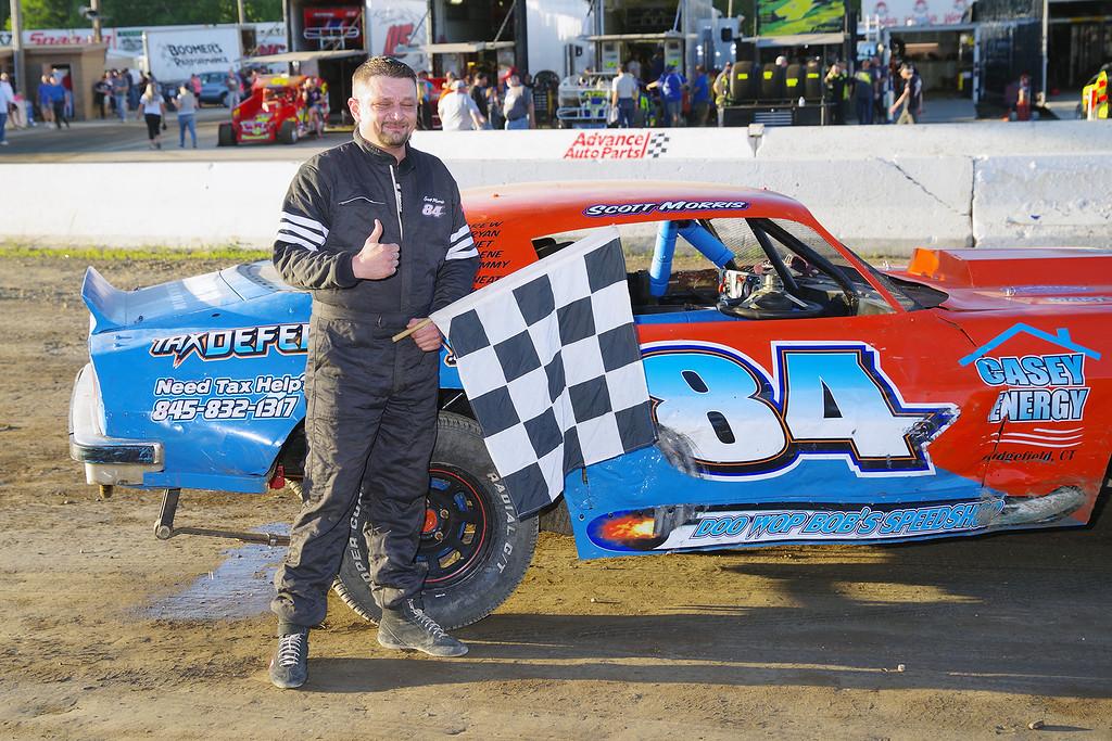 . Pure Stock winner Scott Morris #84 - Photos courtesy Mark Brown/Ryan Karabin at Kustom Keepsakes. See more at https://nepart.smugmug.com