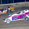 "Mod action Kyle Sheldon #42 & Paul Gilardi #87X at Lebanon Valley Speedway June 30, courtesy Kustom Keepsakes, Mark Brown and Ryan Karabin. For reprints and more,visit <a href=""https://nepart.smugmug.com"">https://nepart.smugmug.com</a>"