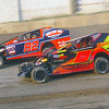 "Smallblock mod action Jason Herrington #1 & Brian Peterson #82 at Lebanon Valley Speedway June 30, courtesy Kustom Keepsakes, Mark Brown and Ryan Karabin. For reprints and more,visit <a href=""https://nepart.smugmug.com"">https://nepart.smugmug.com</a>"