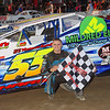 Smallblock mod winner Brett Haas #55 at Lebanon