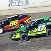 "Smallblock mod action Andy Bachetti #17 & Olden Dwyer #88 at Lebanon Valley Speedway June 30, courtesy Kustom Keepsakes, Mark Brown and Ryan Karabin. For reprints and more,visit <a href=""https://nepart.smugmug.com"">https://nepart.smugmug.com</a>"