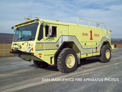 FORT INDIANTOWN GAP FIRE DEPT. CRASH 75-1 1992 AMERTECH CRASH UNIT