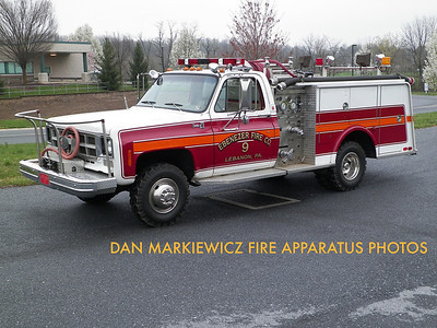 EBENEZER FIRE CO. ATTACK 9 1977 CHEVY/HAMERLY MINI PUMPER
