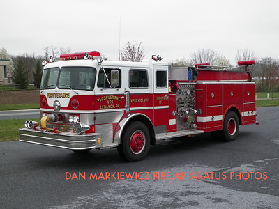 WEAVERTOWN FIRE CO. RESERVE ENGINE 1970 HAHN PUMPER