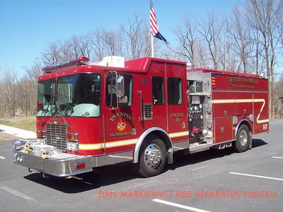 QUENTIN VOLUNTEER FIRE CO. ENGINE 37 2000 HME/NEW LEXINGTON PUMPER