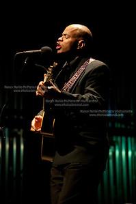 "James Cotton ""Superharp"" Band Guy Davis Opened Lebanon Opera House, Lebanon NH October 9,  2010"