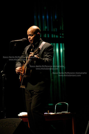 "James Cotton ""Superharp"" Band Guy Davis Opened Lebanon Opera House, Lebanon NH October 9,  2010"