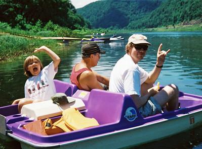 Lebins, 1997-06, Annie, Larry, FL Susquehanna river.
