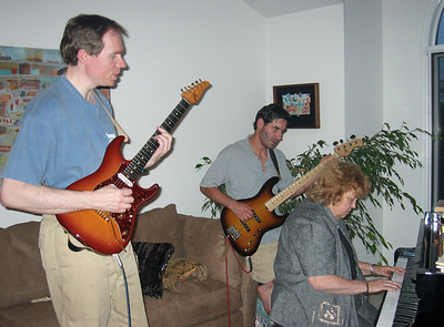 FL guitar, Barry & Shirley Lebin, Greensburg, PA. August 2003.