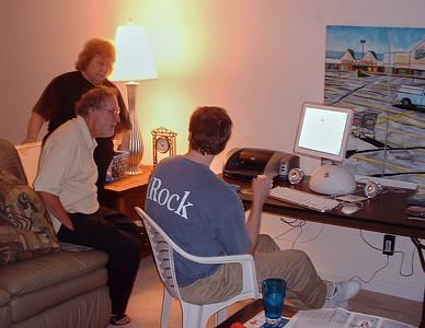Shirley & Larry Lebin, FL, Greensburg, PA. August 2003.