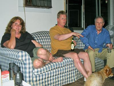 Linda (Lebin) Gabriel, Darrin Gabriel, Larry Lebin.