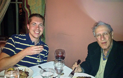 Dinner with Nick, Larry Lebin, FL - at Herdic House in Williamsport PA. Nov 28 2012