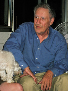 Larry Lebin, at home. June 29 2007.