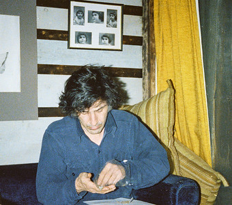 Larry Lebin, March 1978, Passing Through II cast party at his home in Lock Haven.