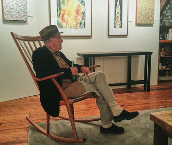 Larry Lebin, at Tom Svec gallery. Dec 3 2011