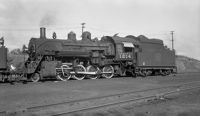 2010.030.04.008--lee hastman 116 neg--DM&IR--steam locomotive 2-8-0 1214--Proctor MN--1955 0813
