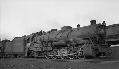 2010.030.04.007--lee hastman 116 neg--DM&IR--steam locomotive 0-10-2 605--East Duluth MN--1951 0800