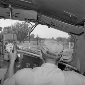 2010.030.05.9.005--lee hastman 120 neg--ICRR--locomotive engineer view from locomotive cab--location unknown--early 1960s