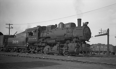 2010.030.05.1.013--lee hastman 116 neg--ICRR--steam locomotive 0-6-0 308--Mays Yard LA--1949 1000