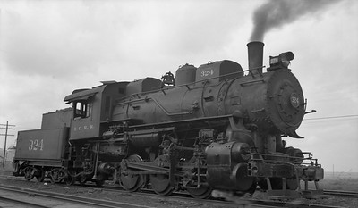 2010.030.05.1.014--lee hastman 116 neg--ICRR--steam locomotive 0-6-0 324--Reserve LA--1954 1123
