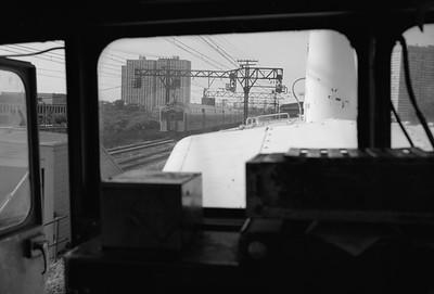 2010.030.05.8.005I--lee hastman 6x9 neg--ICRR--Highliner seen from switch engine near 27th Street--Chicago IL--1972 0000