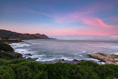 Sunset in Hermanus