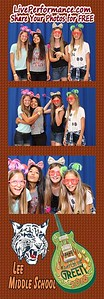 Lee M.S. Day On The Green 6/6/16 - EYE Photo Booth Photo Strips