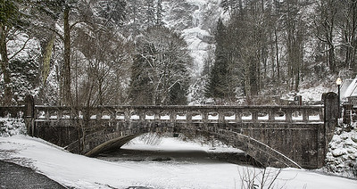 Columbia Gorge Snow