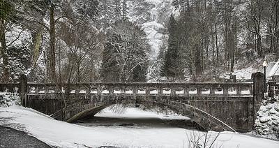 Columbia Gorge Snow