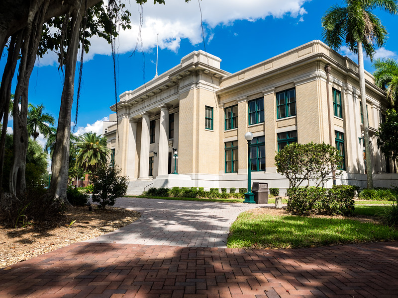 Old Courthouse, Downtown Fort Myers.