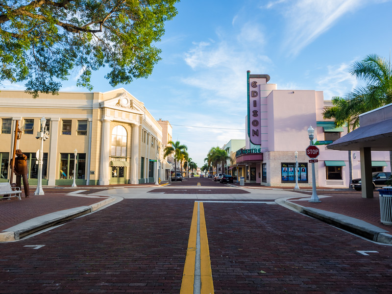Edison Theater, Downtown Fort Myers.