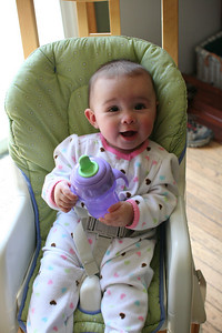 Yay for the sippy cup!