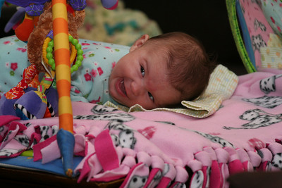 """This """"Tummy Time"""" thing is fun!"""