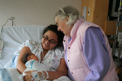 Meeting Great Grandma Dar