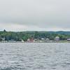 Approaching Leland Harbor
