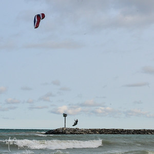 TLR-20140728 - Kiteboarding at Van's Beach, Near Harbor