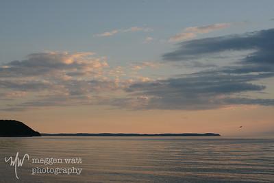 Leland North Beach sunset-9158
