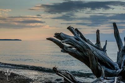 Leland North Beach sunset-9150