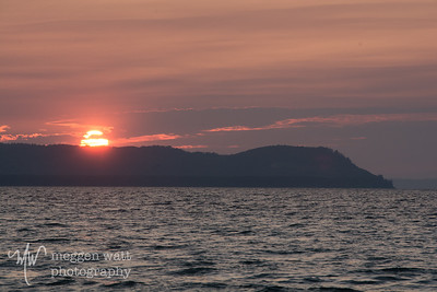 TLR-20170905-Sunset over Pyramid Point from Good Harbor Bay