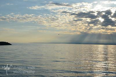 Leland North Beach sunset-9048