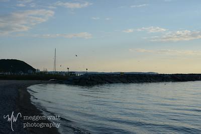 Leland North Beach sunset-9043