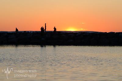 Sunset Leland Harbor-1335