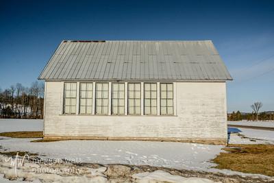 TLR20200302-1629 Solon Schoolhouse, morning light