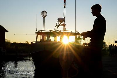 Sunset Leland Harbor-1317