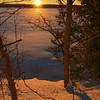 TLR-20140203 - Sunrise over Lake Leelanau's North End
