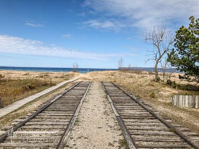 TLR-20180507-0895 Life Saving Station rails, Sleeping Bear Dunes