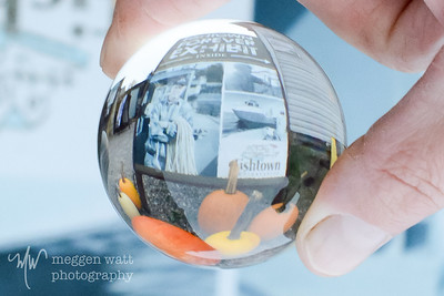 TLR-20171023-1942 Fishtown sign and pumpkins in a glass sphere