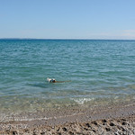 TLR-20160801-4017-Dog Heaven, aka Sleeping Bear Bay with N Manitou Island in the distance